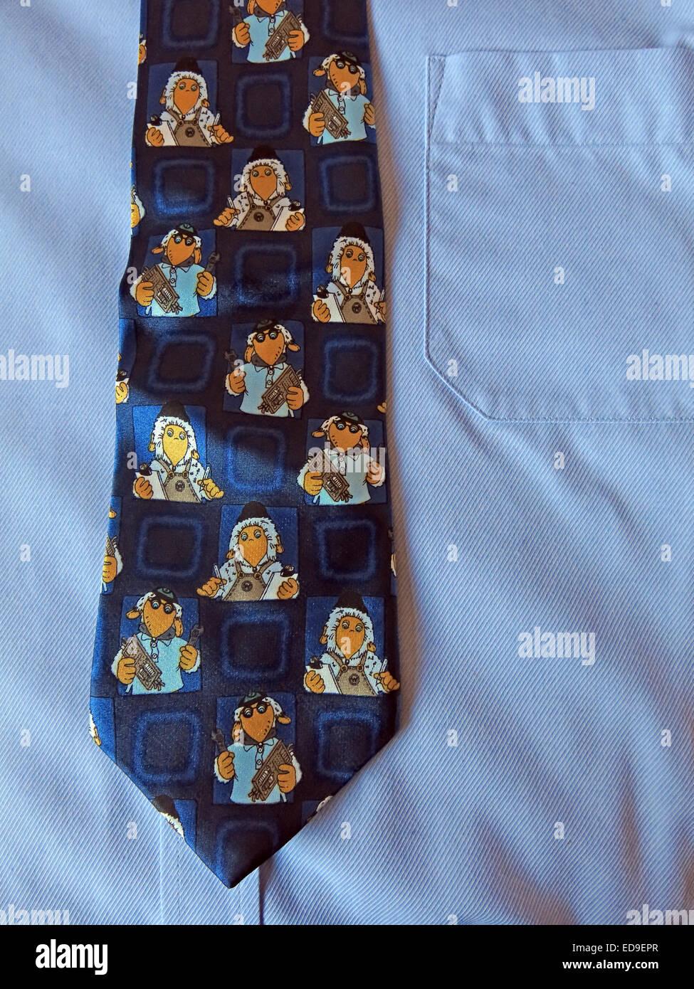 Laden Sie dieses Alamy Stockfoto Interessante Oldtimer Onkel Bulgarien Wombles Krawatte, männliche Antik in Seide - ED9EPR