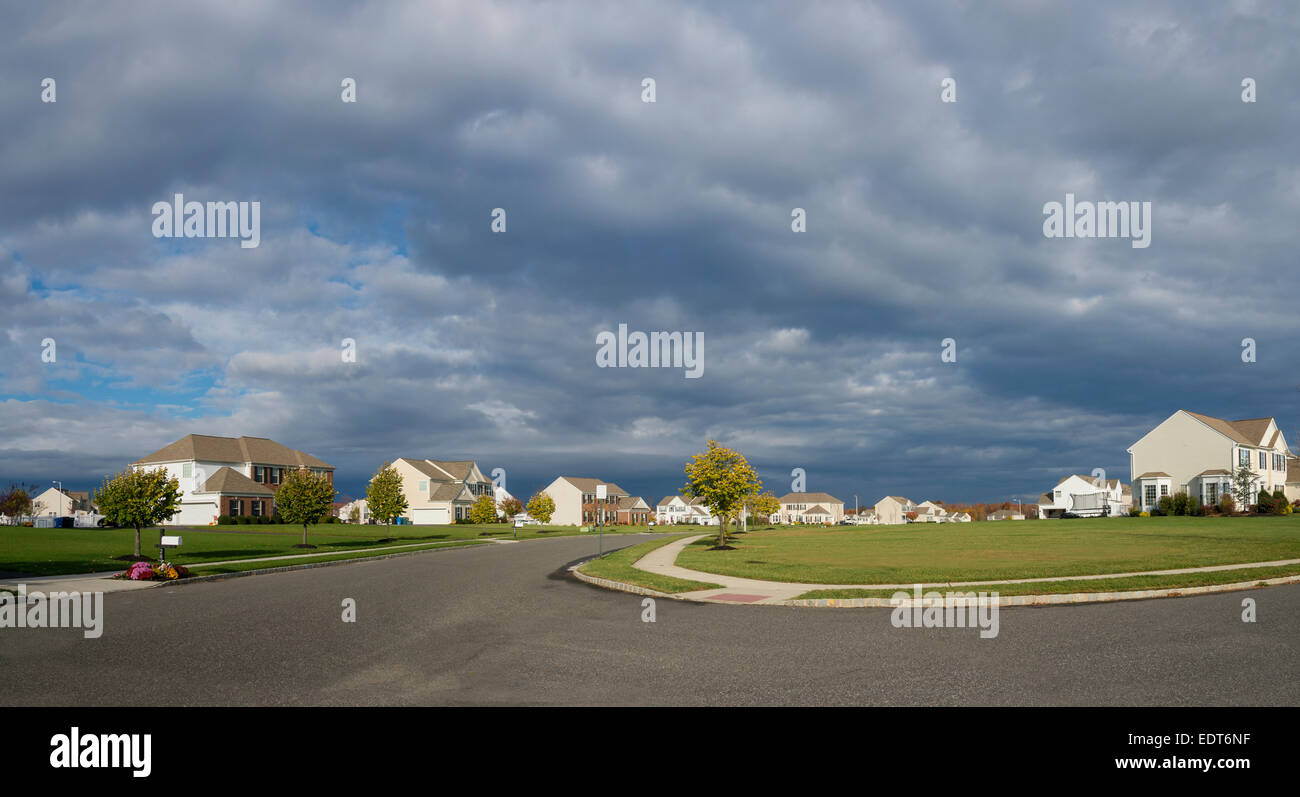 Vorort, Pennsylvania, USA Stockbild