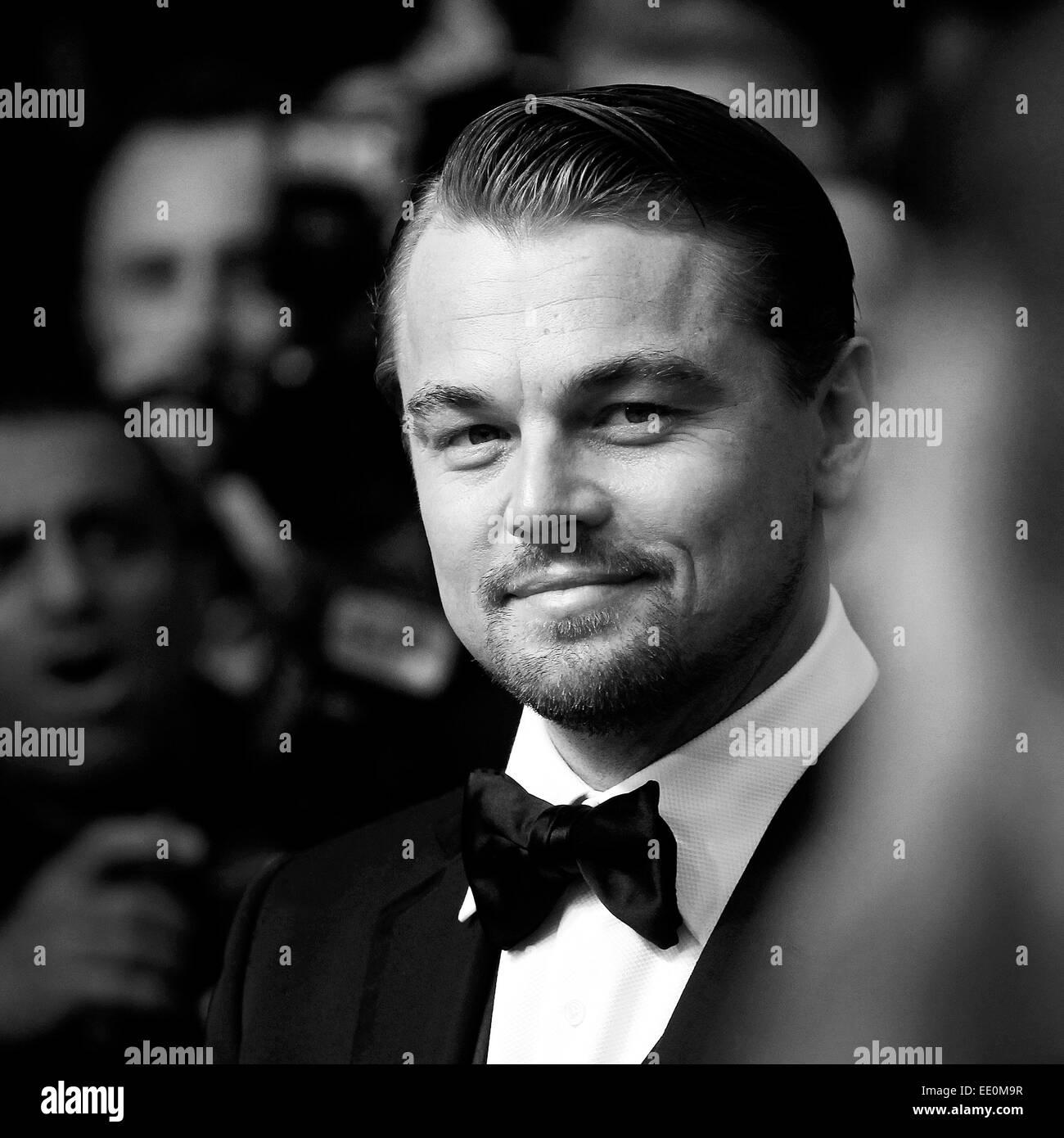 """CANNES, Frankreich - Mai 15: Schauspieler Leonardo DiCaprio besucht die Premiere von """"The Great Gatsby"""" Stockbild"""