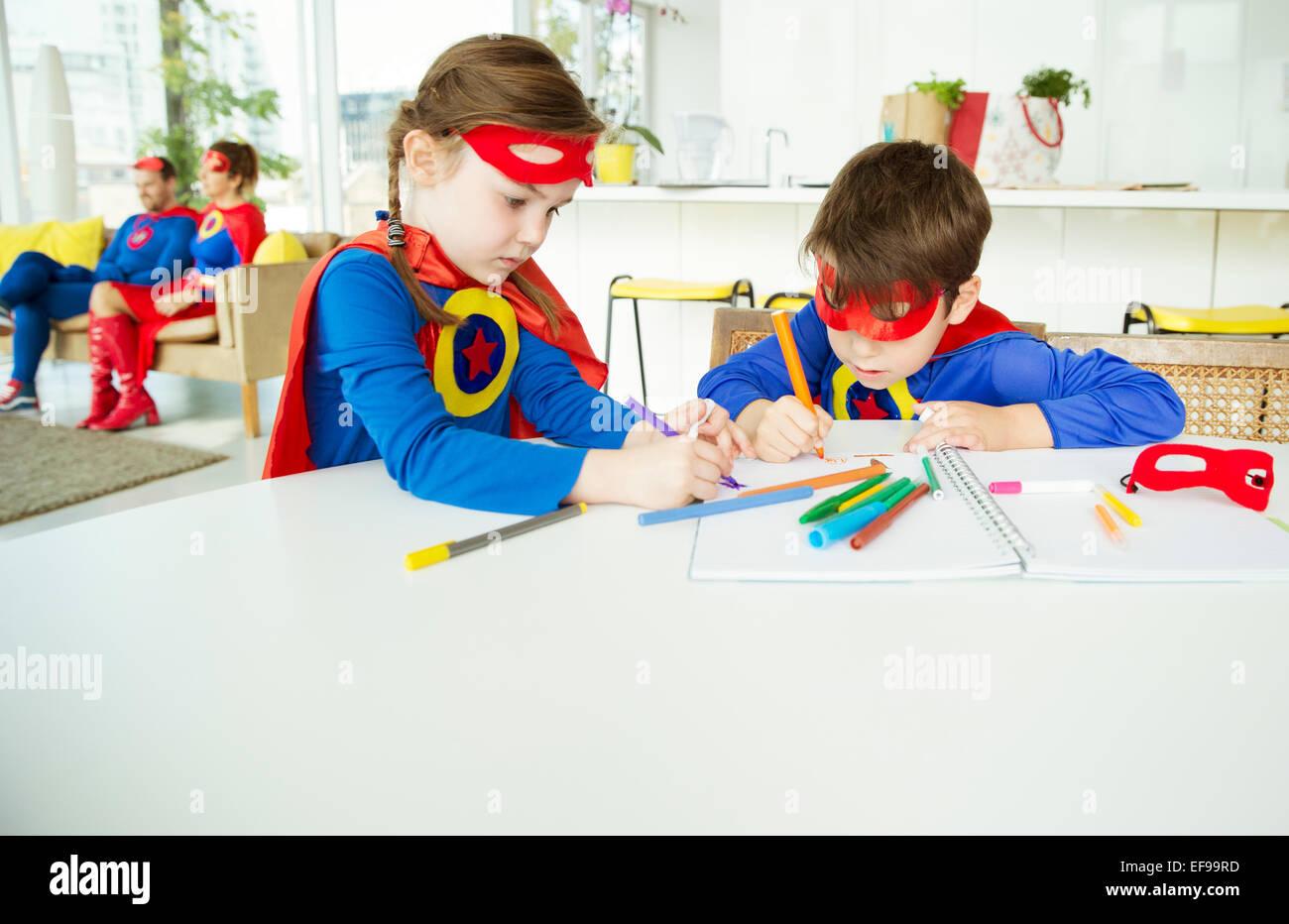 superhero cape art stockfotos superhero cape art bilder alamy. Black Bedroom Furniture Sets. Home Design Ideas