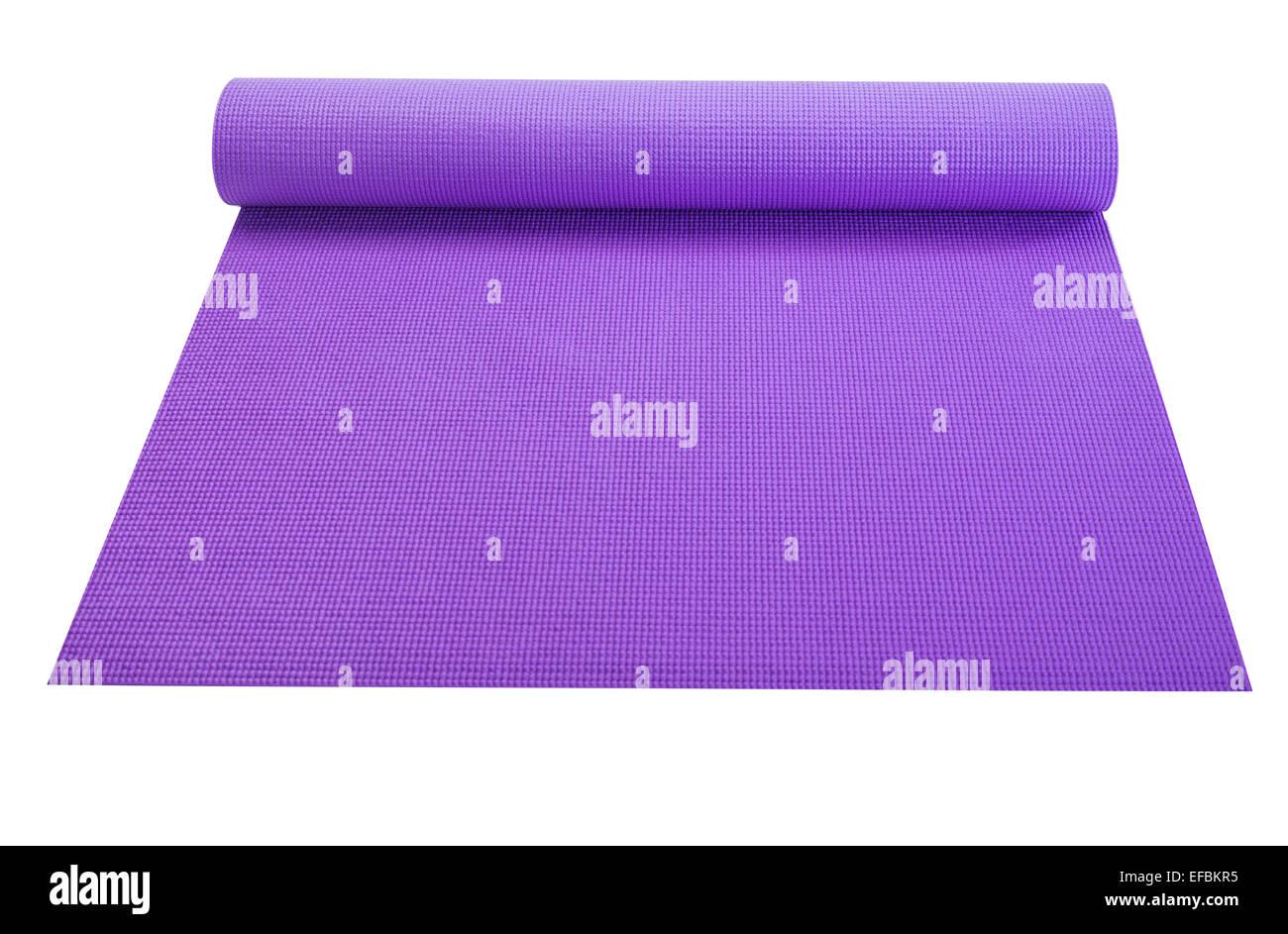 Roll-out Matten für Workout und Aerobic Stockbild