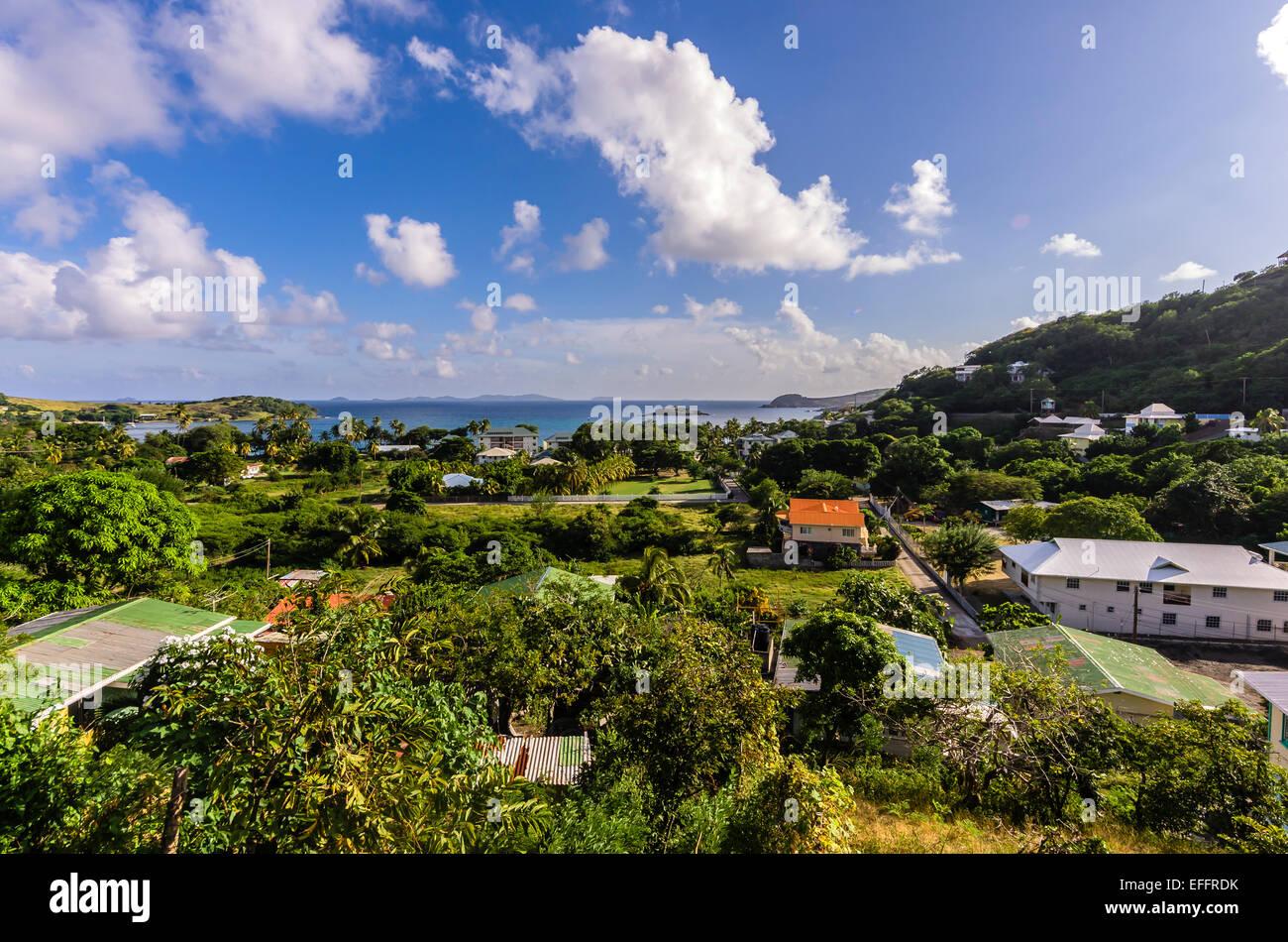 Karibik, Antillen, kleine Antillen, Grenadinen Bequia, Stockbild