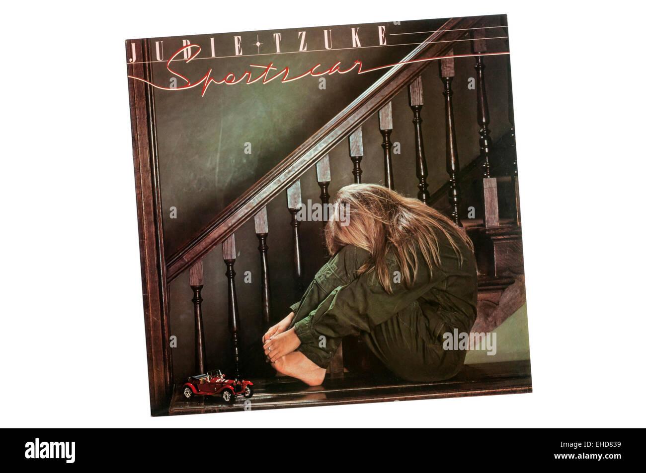 Sportscar war das 2. Album von der britische Singer-Songwriterin Judie Tzukes, veröffentlicht im Jahr 1980. Stockbild