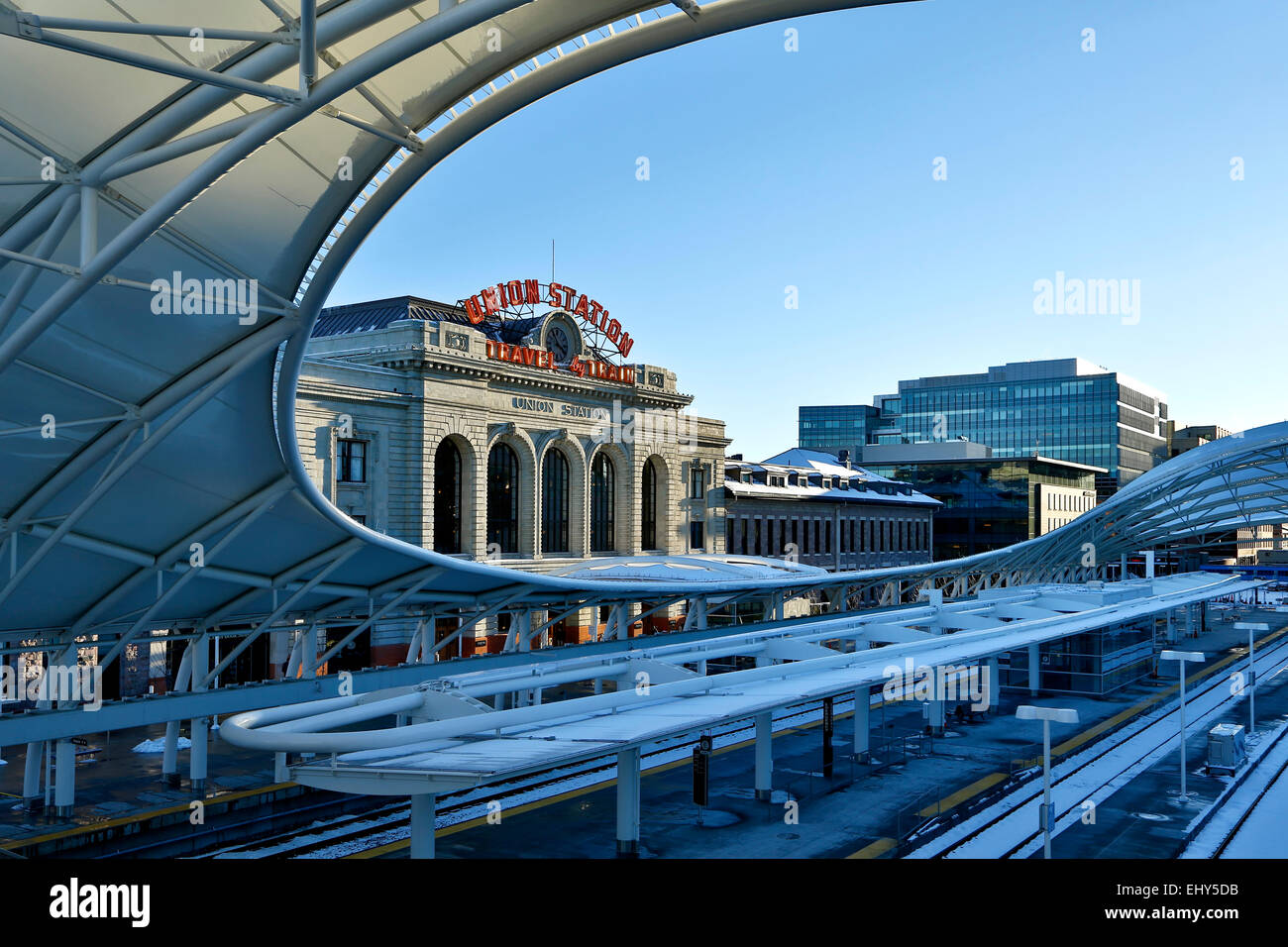 Union Station, Denver, Colorado USA Stockbild
