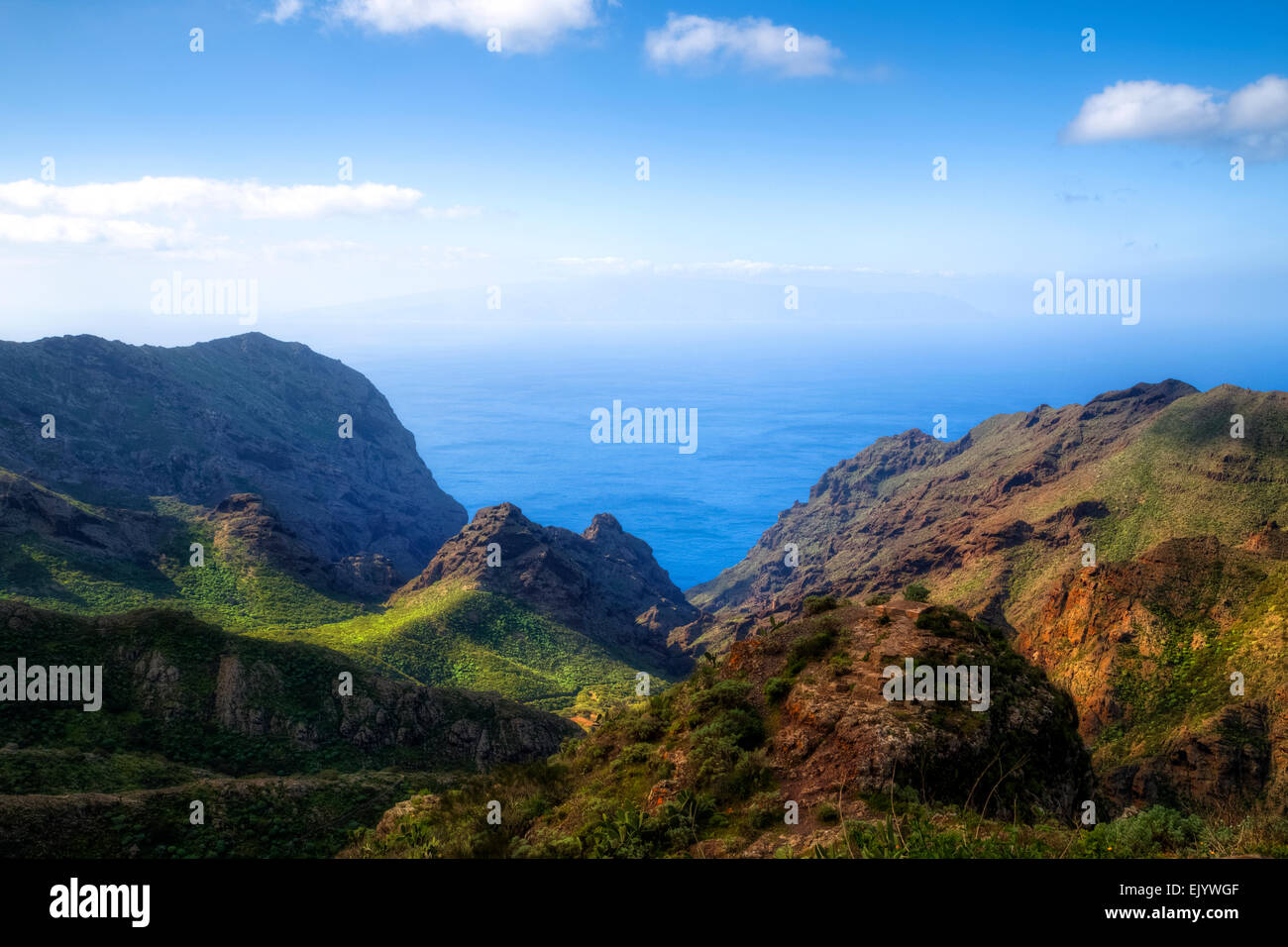 Teneriffa, Masca, Teno-Massivs, Kanarische Inseln, Spanien Stockfoto