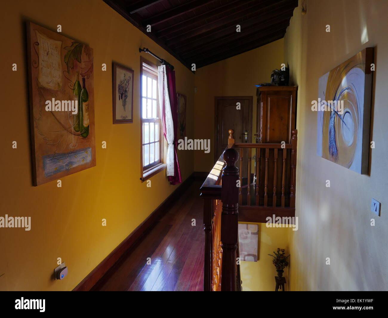 Spanien-Kanarische Inseln-Teneriffa Vilaflor Interieur Stockbild