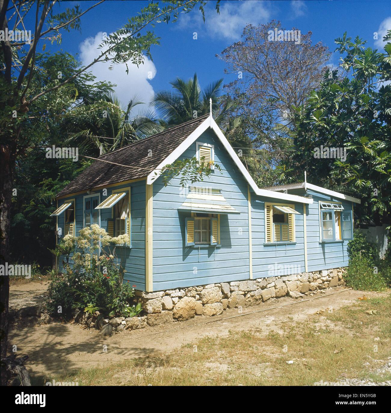 Karibik, kl Antillen, St. Luca Stockbild
