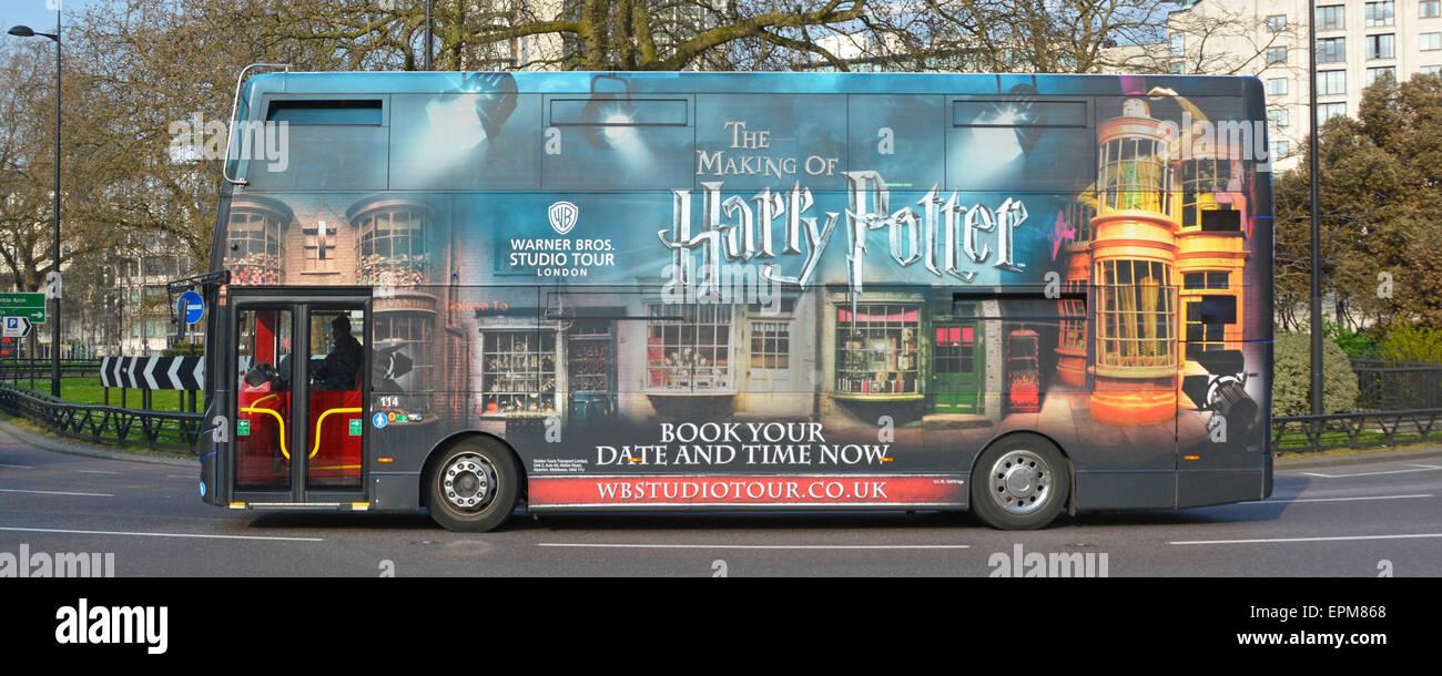 Golden Tours Harry Potter Shuttle