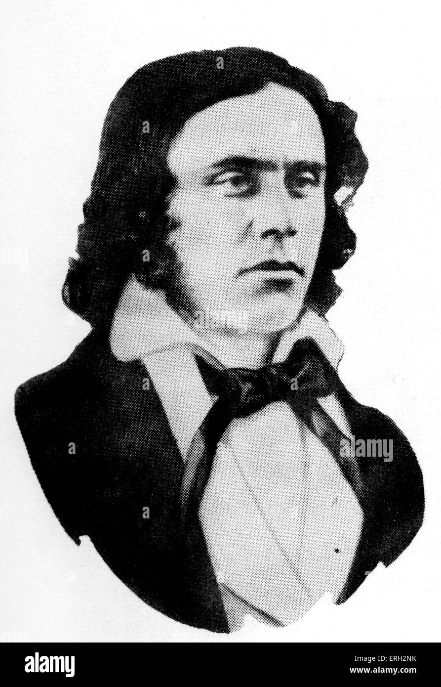 Richard Henry Dana Jr., US-amerikanischer Jurist und Politiker. 1. August 1815 - 6. Januar 1882. Stockbild