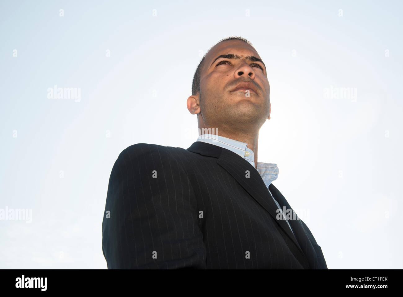 Porträt des lateinischen Geschäftsmann Stockbild