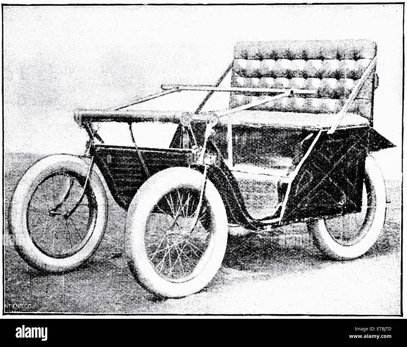 Victoria Motorette, Racine Motor Vehicle Company, ca. 1895 Stockbild