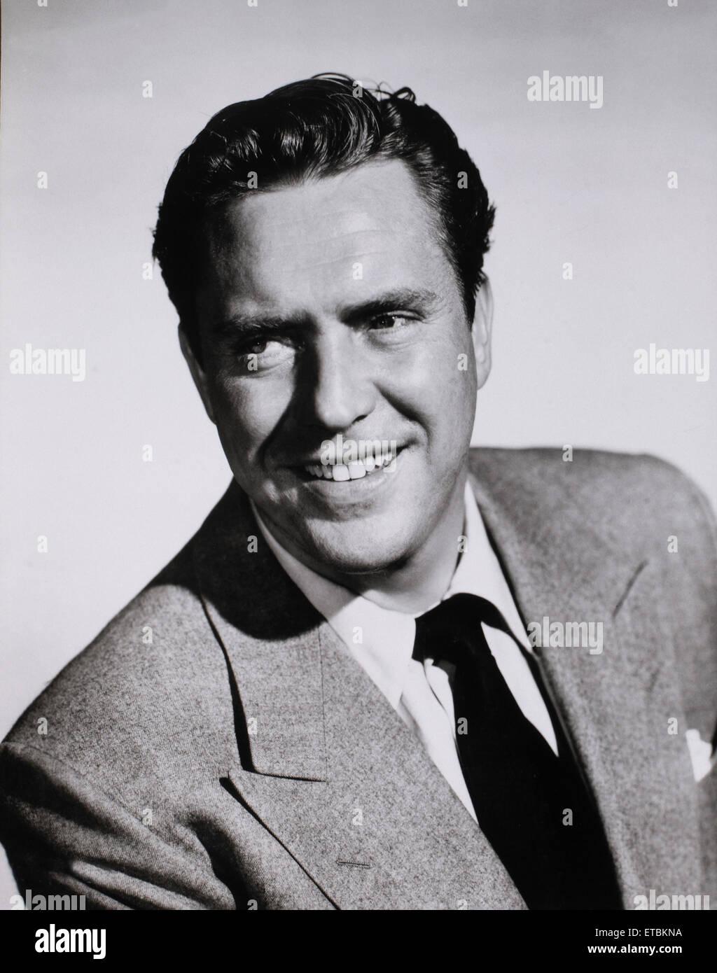Schauspieler Edmond O'Brien, Portrait, 1951 Stockbild