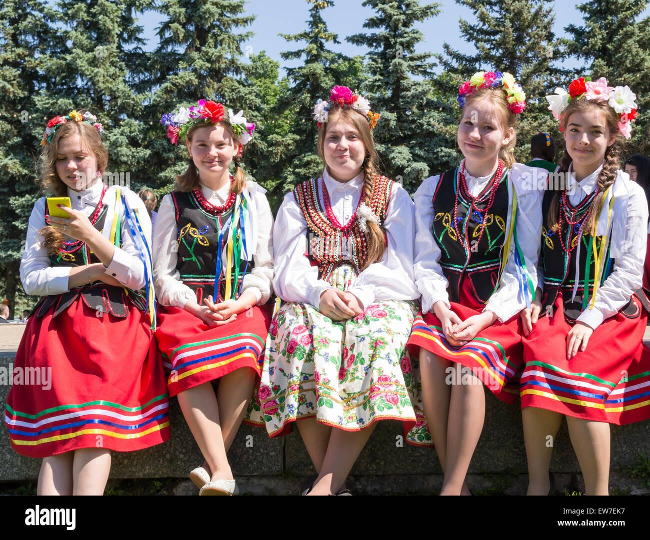Russische Mädchen