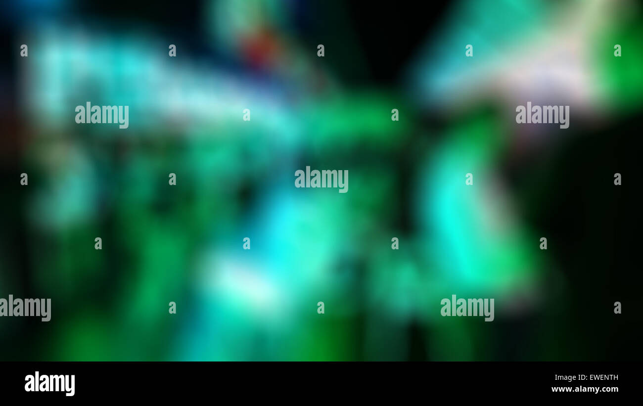 Abstrakt Grün unscharfen Hintergrund Stockbild