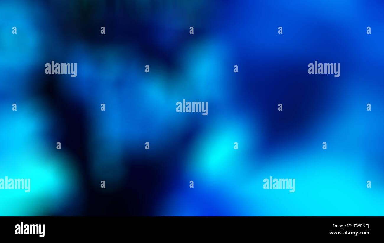 Abstrakt Blau verschwommenen Hintergrund Stockbild