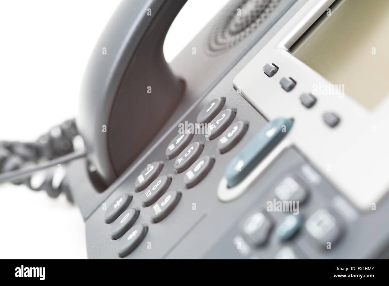 Business Office IP-Telefon Stockbild