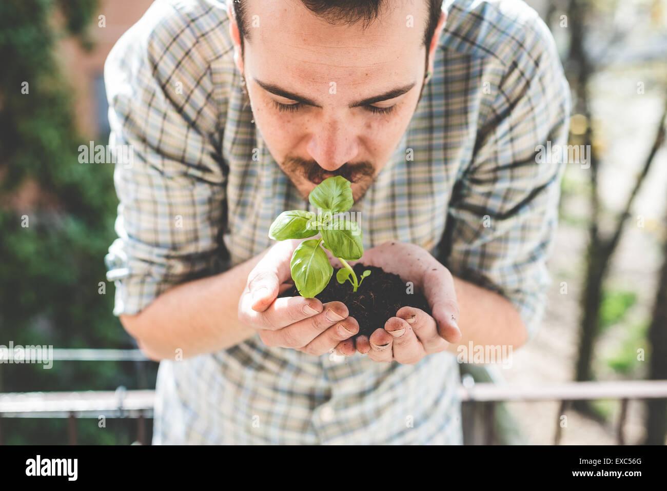 gardening stockfotos gardening bilder alamy. Black Bedroom Furniture Sets. Home Design Ideas