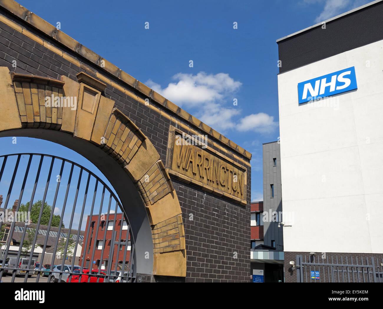 Laden Sie dieses Alamy Stockfoto Bad St, Warrington Hospitals NHS Trust, Cheshire, England, Vereinigtes Königreich - EY5KEM