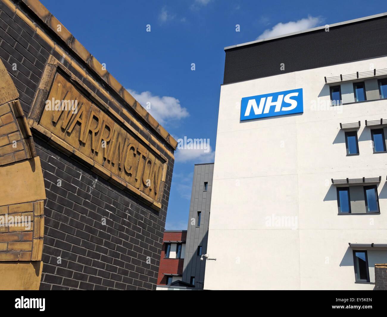 Laden Sie dieses Alamy Stockfoto Bad St, Warrington Hospitals NHS Trust, Cheshire, England, Vereinigtes Königreich - EY5KEN
