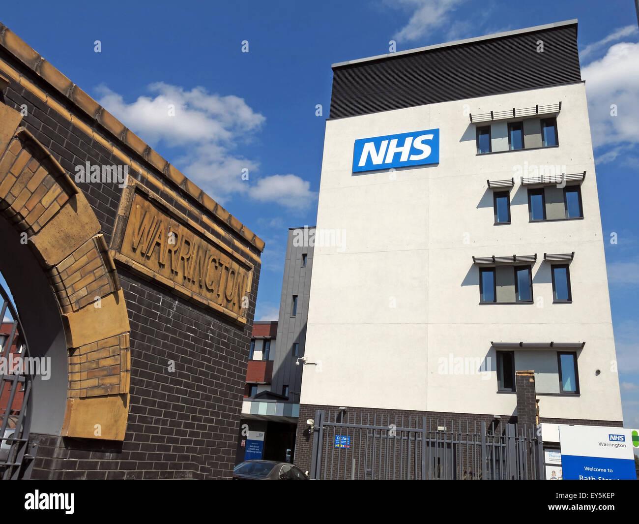Laden Sie dieses Alamy Stockfoto Bad St, Warrington Hospitals NHS Trust, Cheshire, England, Vereinigtes Königreich - EY5KEP
