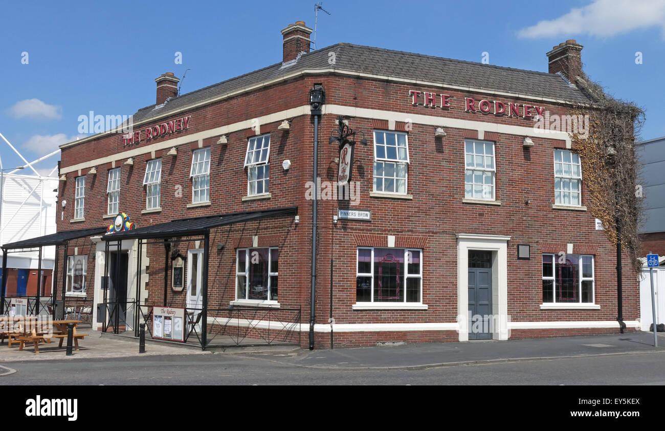 Laden Sie dieses Alamy Stockfoto Der Herr Rodney Pub, Winwick Rd, Warrington, Cheshire, England, UK WA2 7DH - EY5KEX