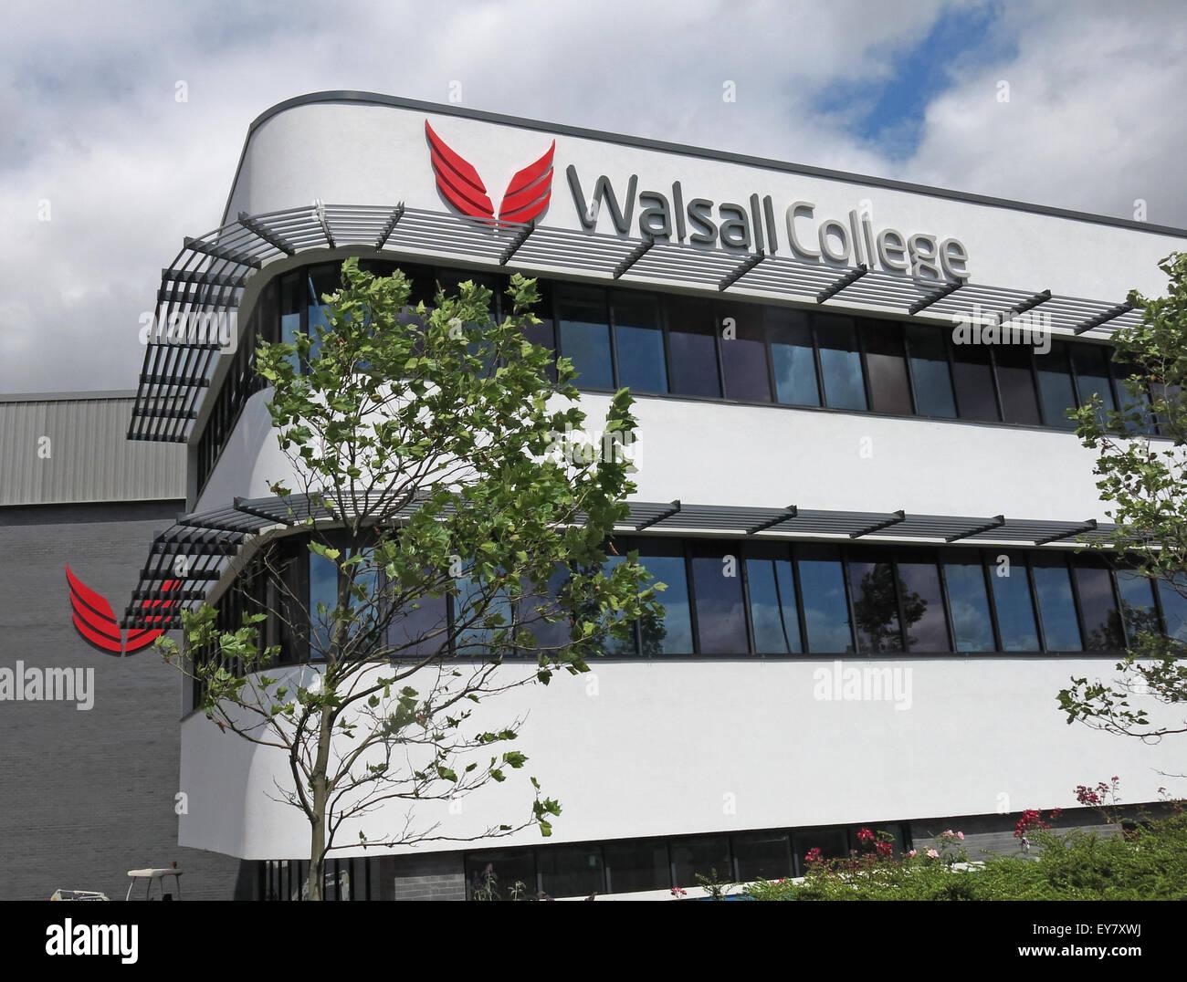 Laden Sie dieses Alamy Stockfoto Walsall neue College-Gebäude, West Midlands, England, UK - EY7XWJ
