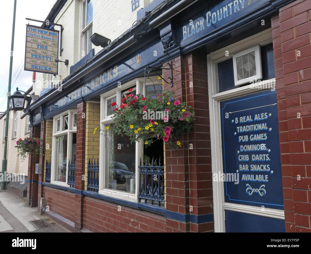Laden Sie dieses Alamy Stockfoto Der hübsche Ziegel Pub, Walsall, schwarzen Land, West Midlands, England, UK - EY7Y5P
