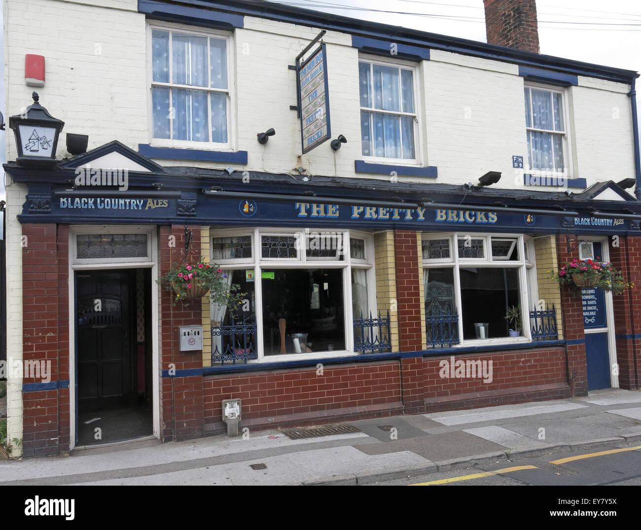Laden Sie dieses Alamy Stockfoto Der hübsche Ziegel Pub, Walsall, schwarzen Land, West Midlands, England, UK - EY7Y5X
