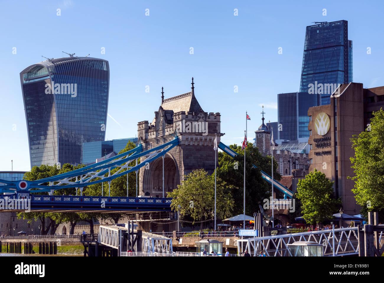 City of London, England, Vereinigtes Königreich Stockbild