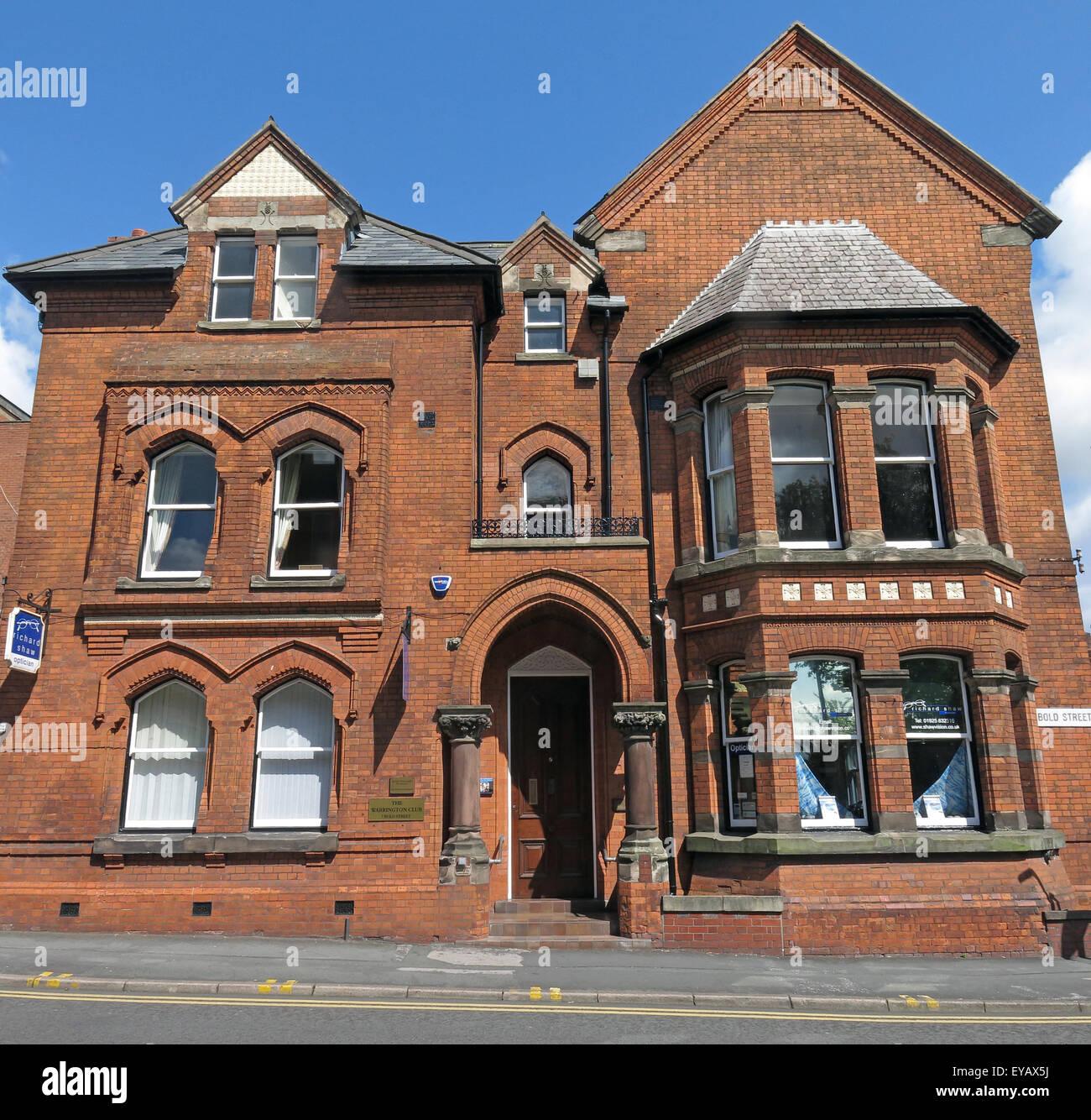 Laden Sie dieses Alamy Stockfoto Warrington-Club, Fett St, Cheshire, England, Vereinigtes Königreich - EYAX5J