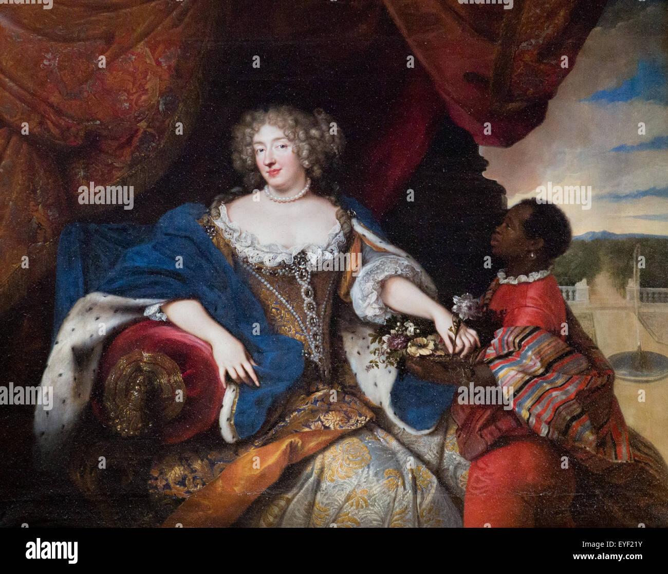 Elisabeth-Charlotte von Jahre-Pfalz von Wittelsbach 12.10.2013 - Sammlung des 18. Jahrhunderts Stockbild