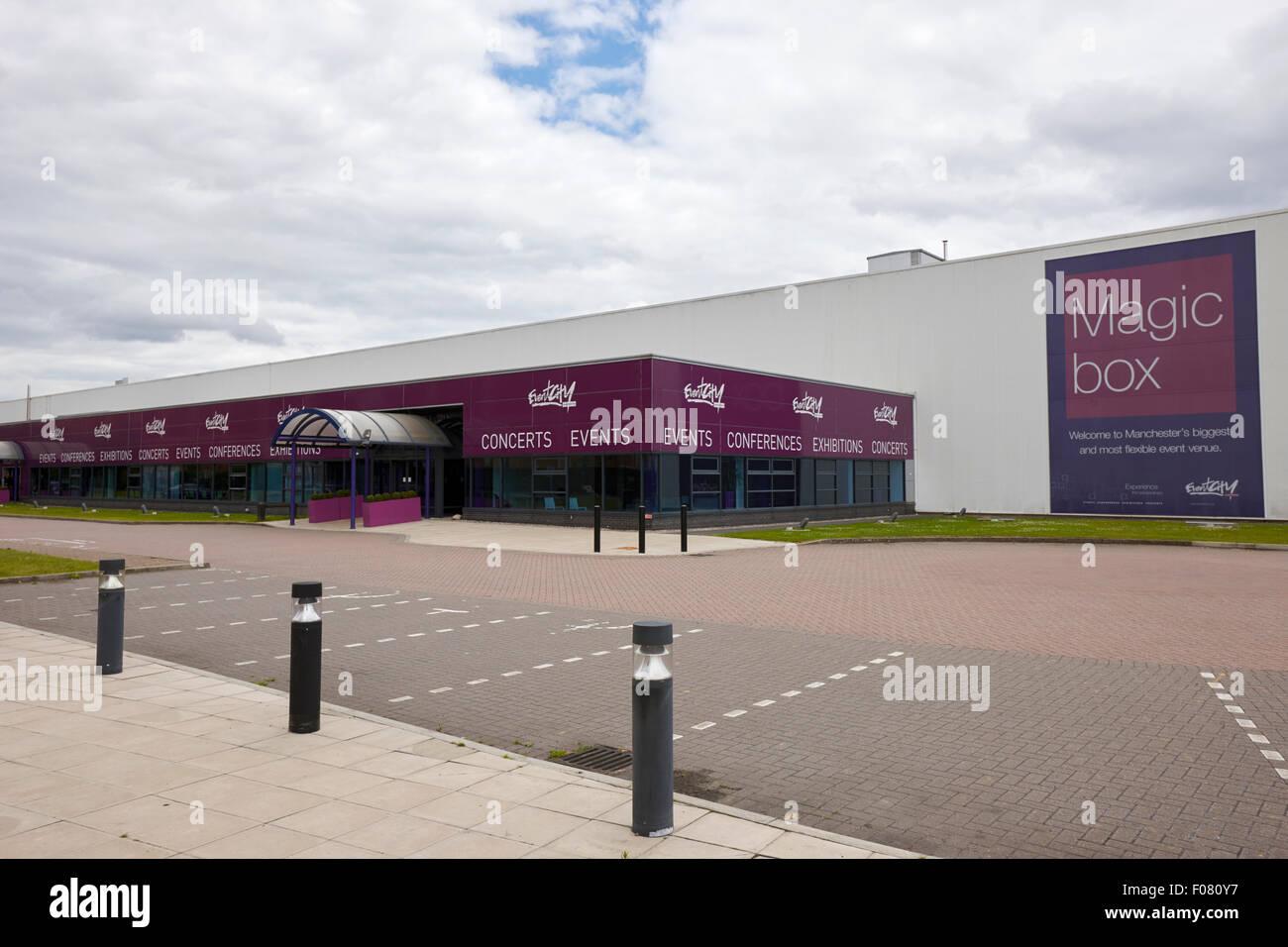 Magic Box Stadt Konferenz Konzert und Ausstellung Veranstaltung Veranstaltungsort Manchester uk Stockbild