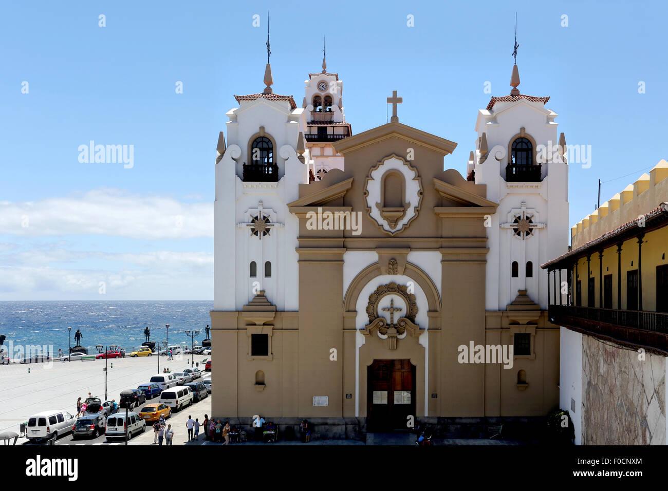 Candelaria, Teneriffa, Kanarische Inseln-Spanien Stockfoto
