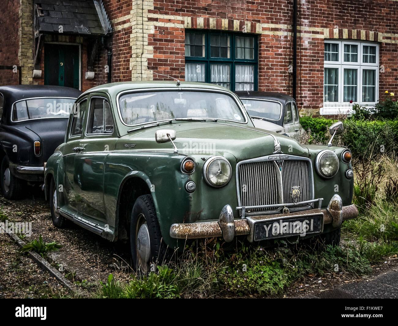 Rover P4 105 Stockbild