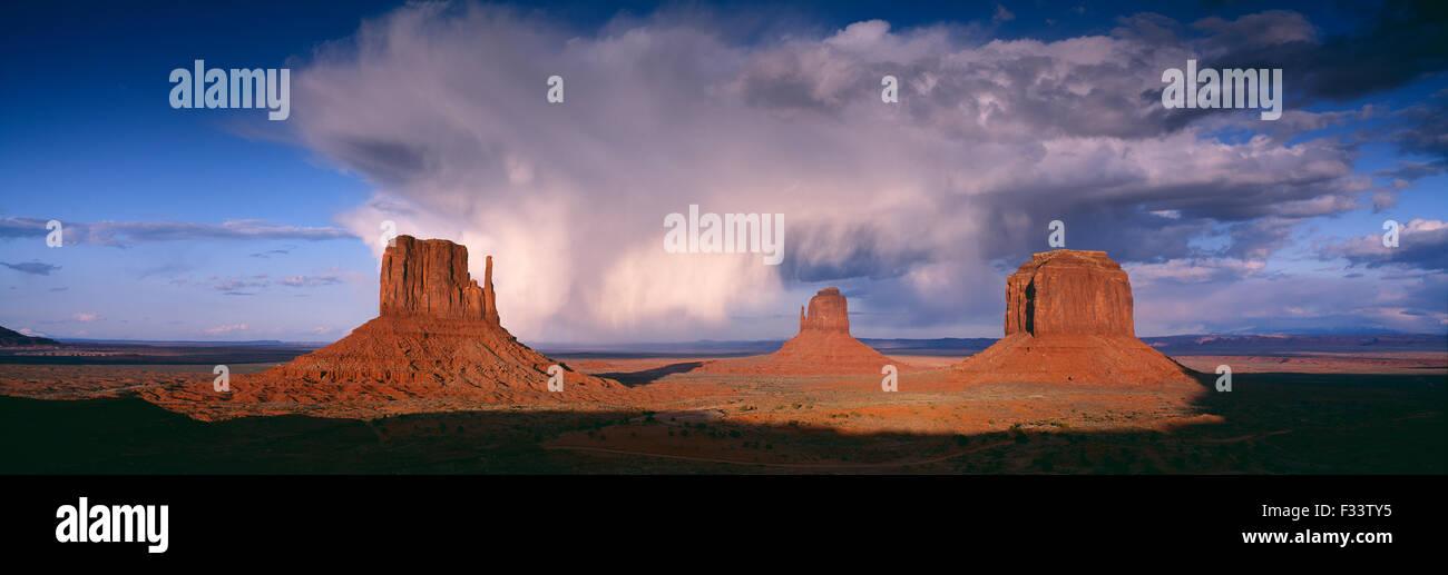 Monument Valley, Arizona, USA Stockbild