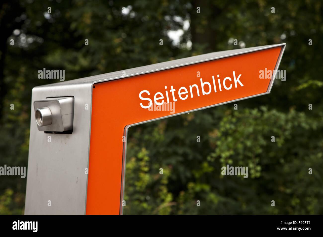 EMSCHERKUNST, Recklinghausen, Deutschland Stockbild