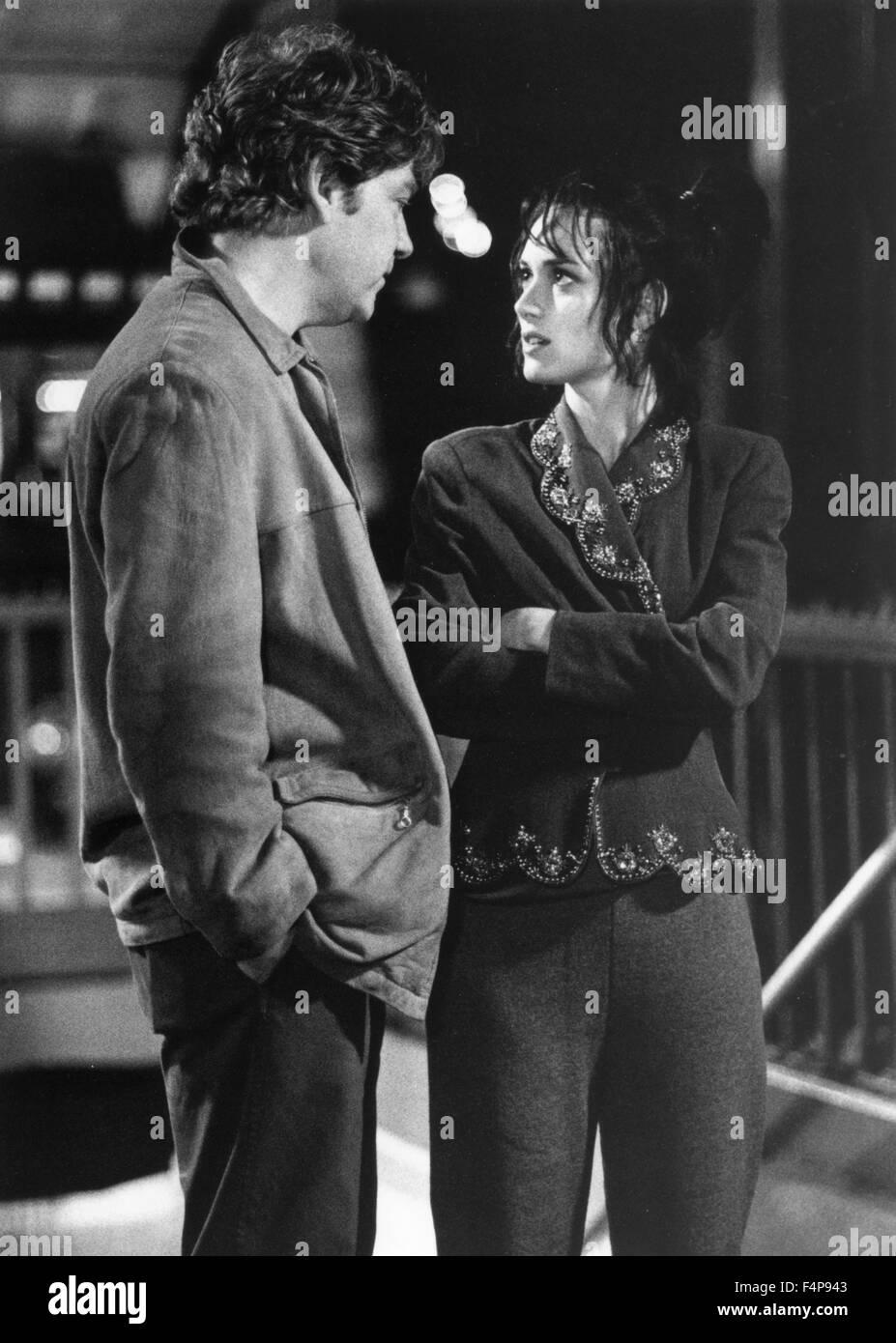 Kenneth Branagh, Winona Ryder / Celebrity 1998 unter der Regie von Woody Allen Stockbild