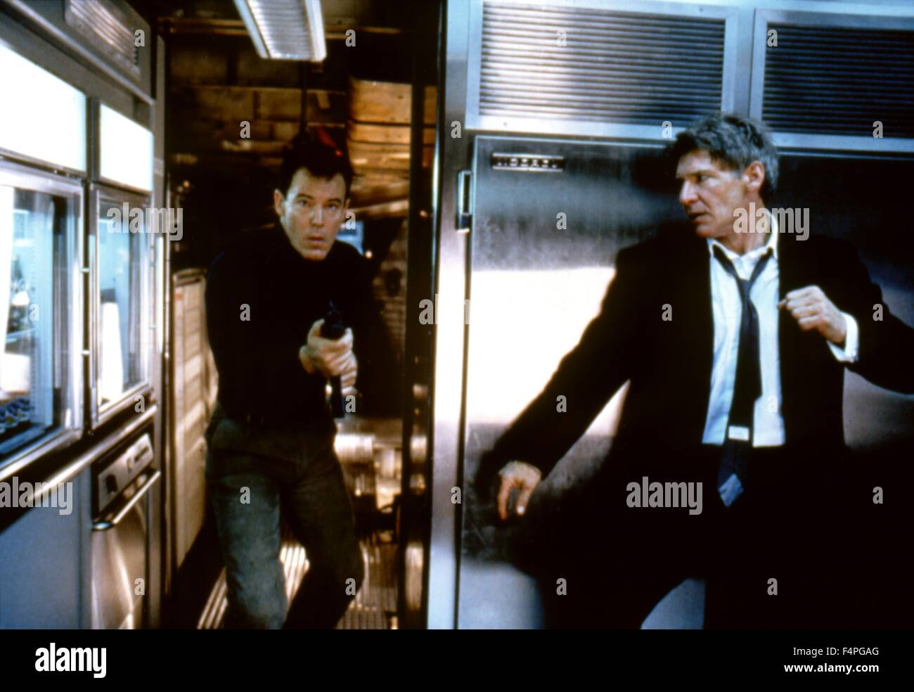 Harrison Ford / Air Force One / 1997 unter der Regie von Wolfgang Petersen Stockbild