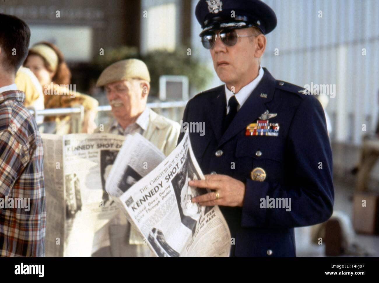 Donald Sutherland / JFK / 1991 unter der Regie von Oliver Stone [WARNER BROS PICTURES] Stockbild