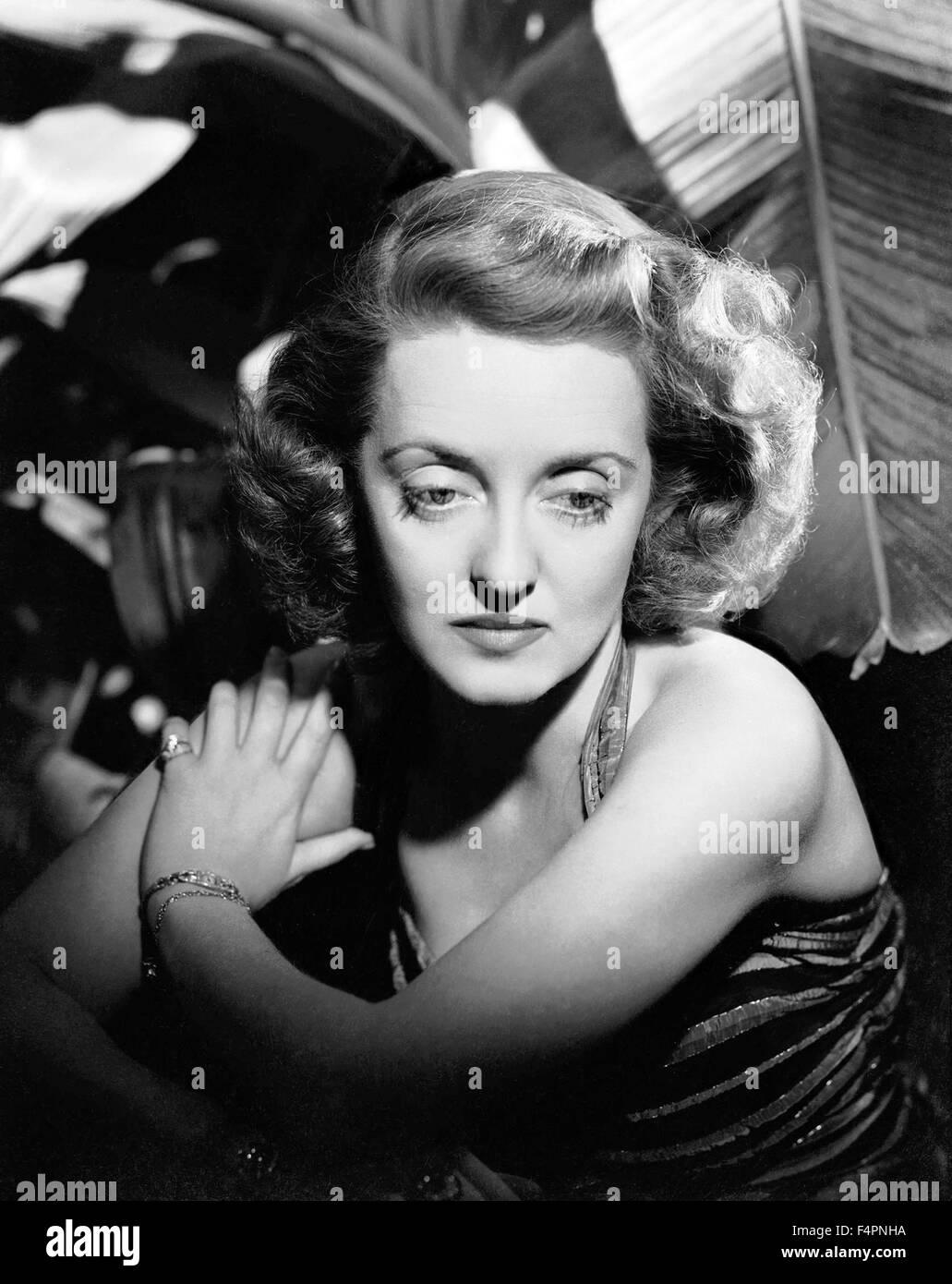 Bette Davis in den 30er Jahren Stockbild