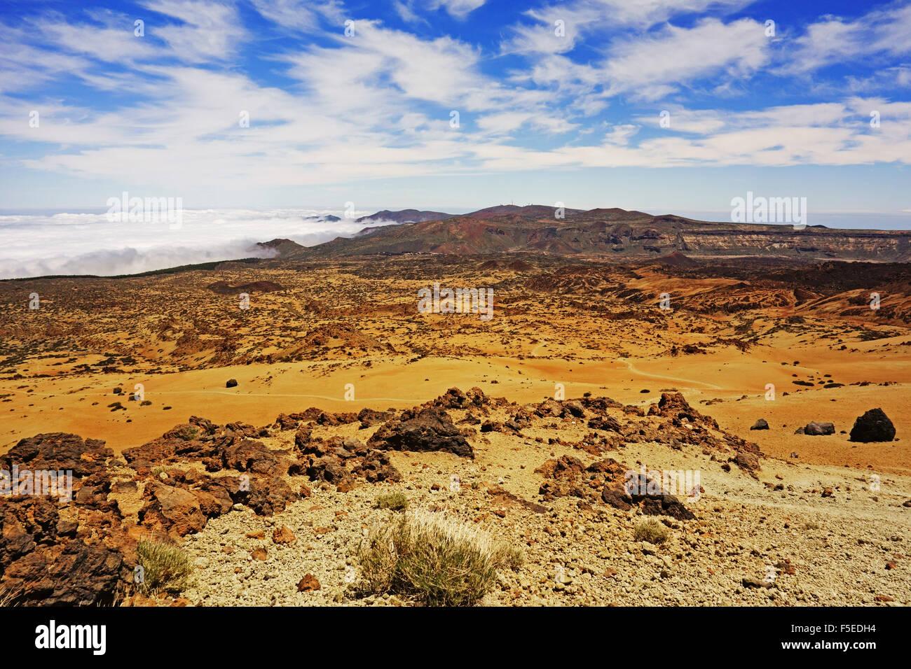 Las Canadas, Parque Nacional del Teide, Teneriffa, Kanarische Inseln, Spanien, Atlantik, Europa Stockfoto