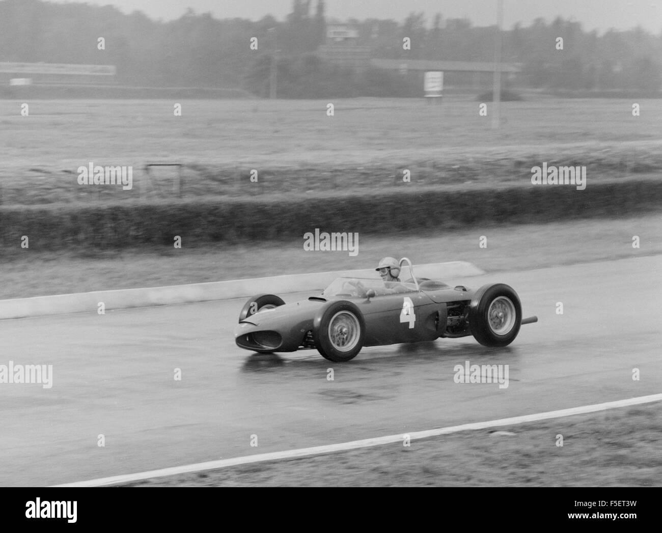 Ferrari 156, Wolfgang Von Trips. 1961-GP von Italien-Monza Stockbild