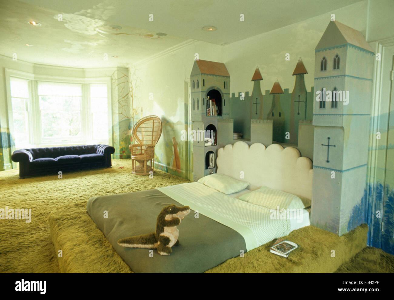 Unter dem Motto Bett des Kindes der 70er Jahre schloss Schlafzimmer ...