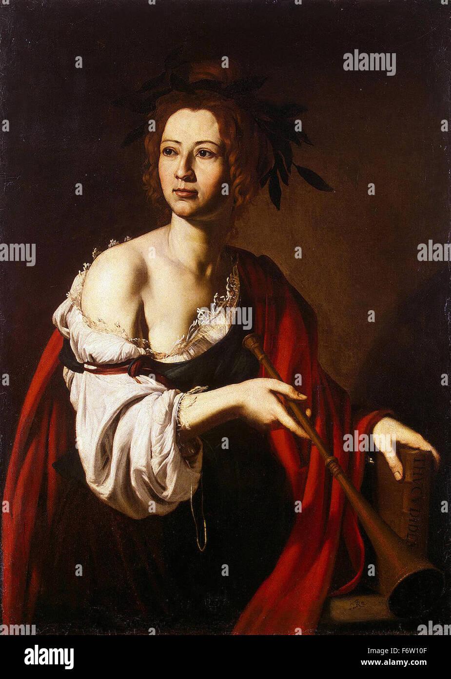 Jusepe de Ribera - Allegorie der Geschichte Stockbild
