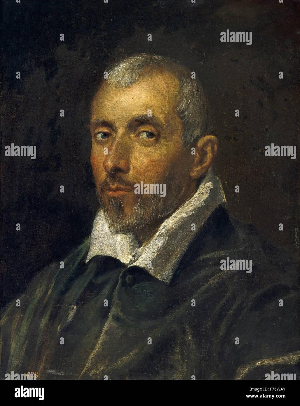 Jacopo Tintoretto - venezianischen Richter Stockbild