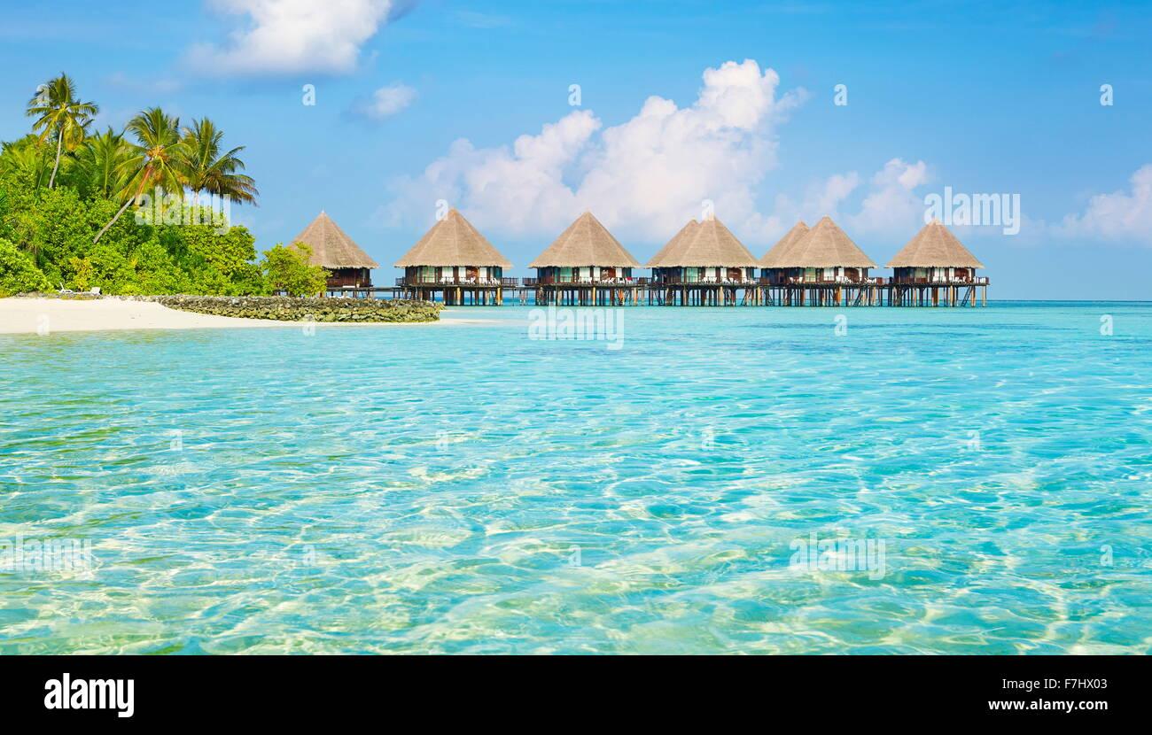 Malediven-Inseln Stockbild