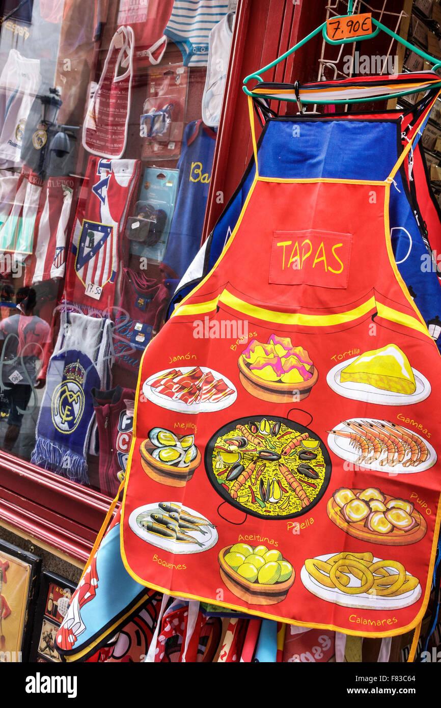 Spanien Europa Spanische spanischer Madrid Centro souvenir shopping ...