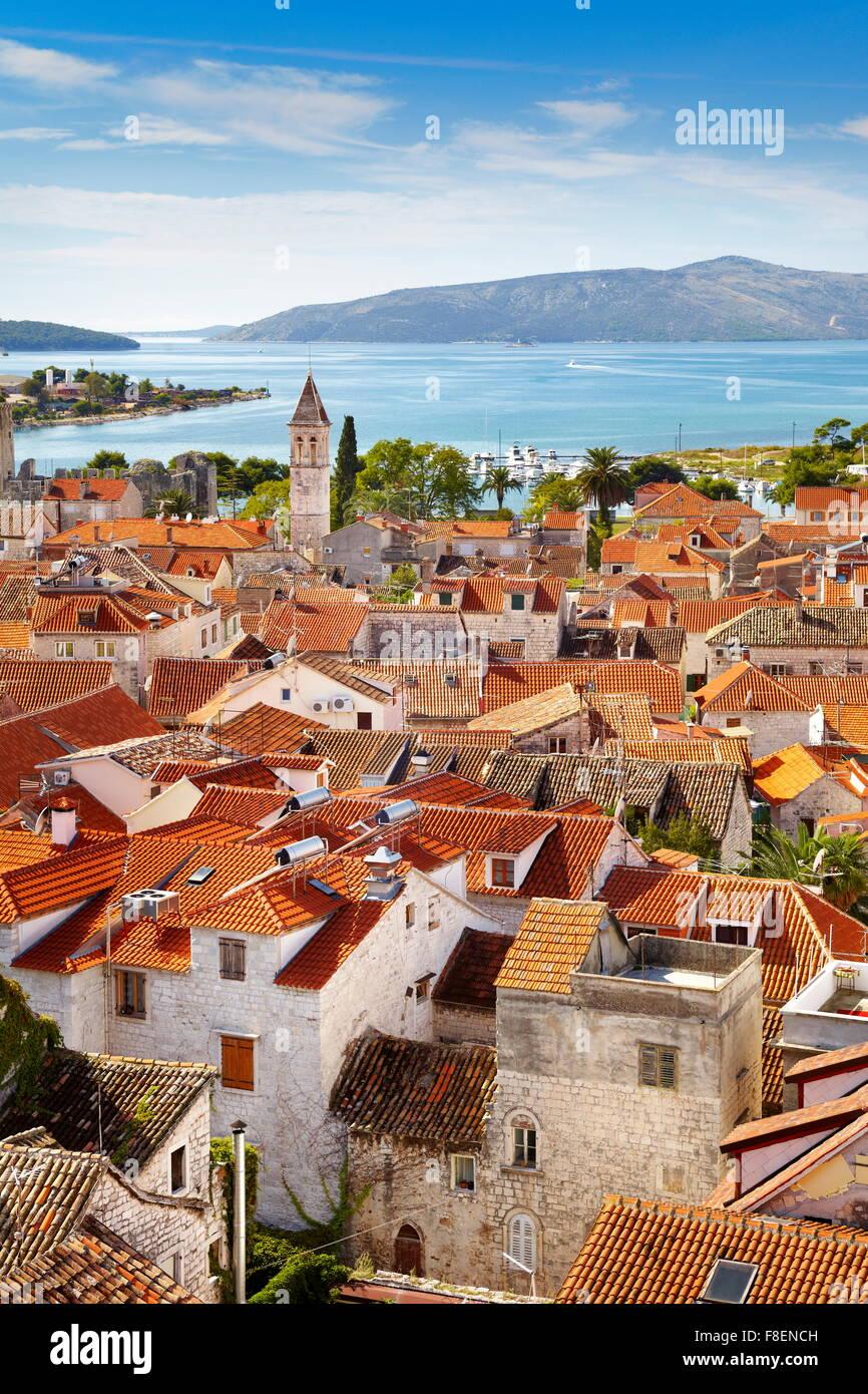 Trogir, Kroatien, Europa Stockbild