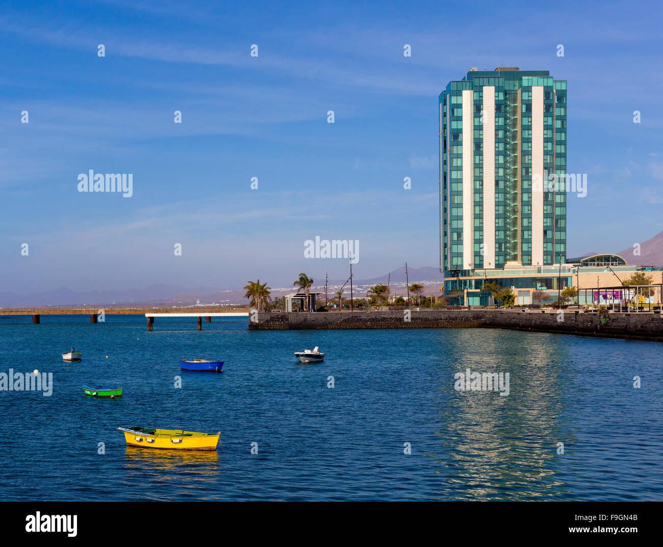Gran Hotel Arrecife, Lanzarote, Kanarische Inseln, Spanien Stockfoto