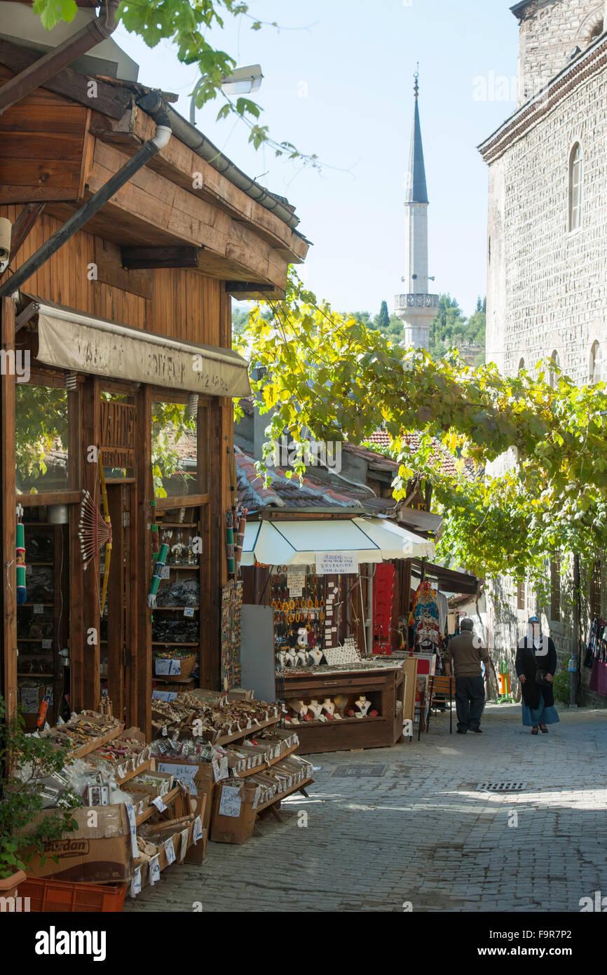 Ägypten, Schreck Schwarzmeerküste, Safranbolu, Gasse in der Altstadt Stockbild